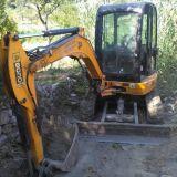 Mini escavatore Jcb 80 30