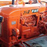 Trattore d'epoca Fiat 25 r gommato