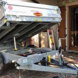 Rimorchio trailer  Boeckmann dk ribaltabile