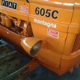 Trattore cingolato Fiat 605 c montagna a norma
