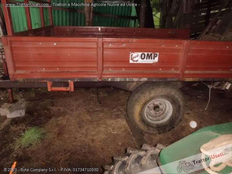 Rimorchio agricolo omp for Rimorchi agricoli omp