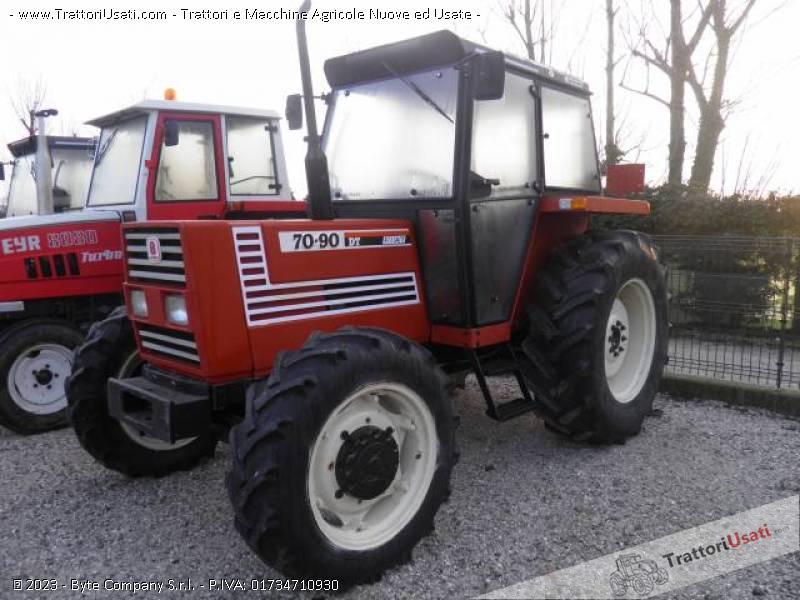 Trattore fiat 70 90 dt for Consorzio agrario piacenza trattori usati
