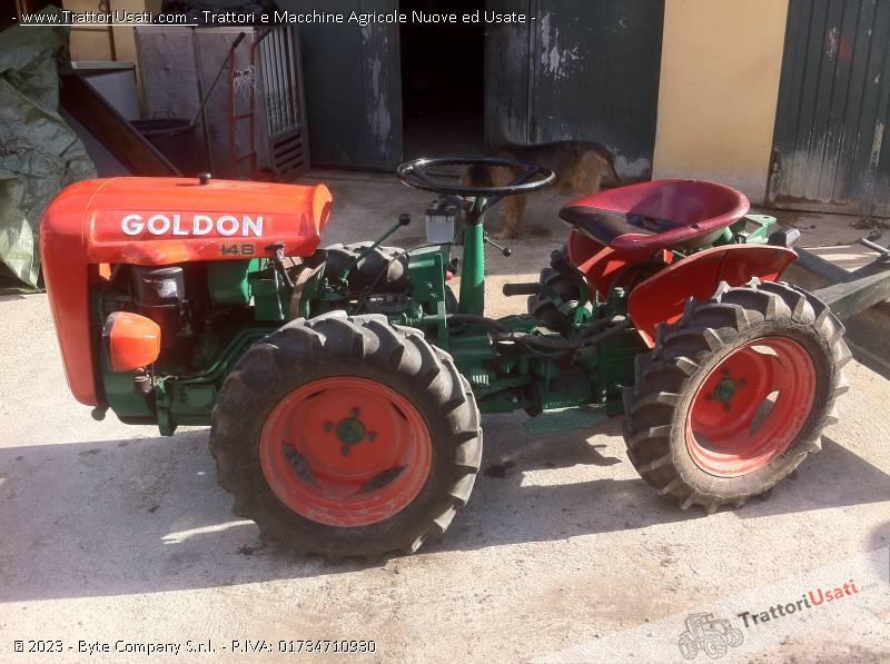 Trattore goldoni export hx 148 fresatrice vomere ruspa for Aratro per motocoltivatore goldoni