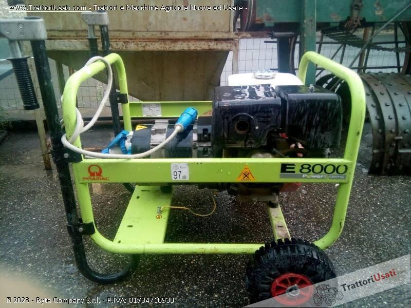 Generatore corrente honda e8000 for Generatore honda usato