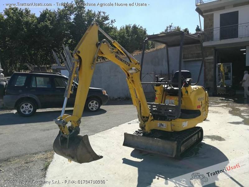 Foto Annuncio Mini escavatore  - pc 12 komatsu