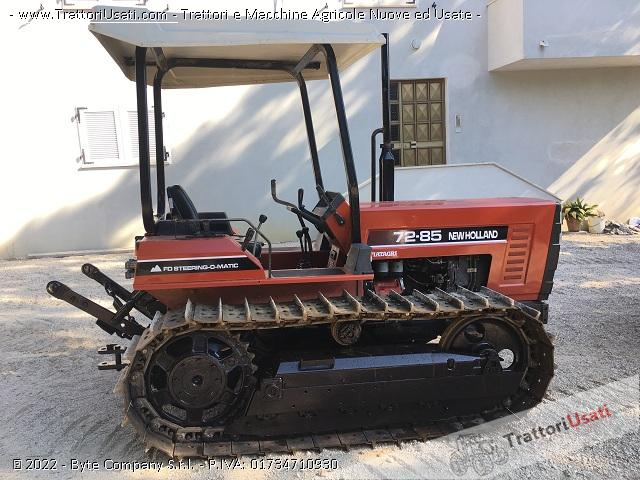 Foto trattore cingolato new holland 72 85 for New holland 72 85