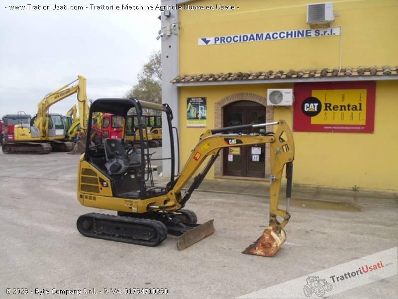 Foto Annuncio Mini escavatore  - 301.7d caterpillar