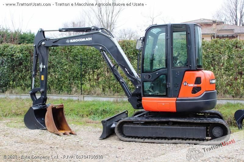 Foto Annuncio Mini escavatore  - es500zt eurocomach