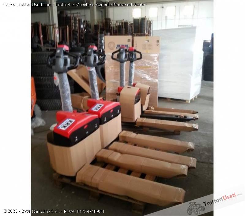 Foto Annuncio Transpallet elettrico  - krk ept20-15et2 krk metallurgik