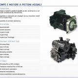 Foto 1 Pompe e motori a pistoni assiali  - oleodinamiche e motori oleodinamici taurasi