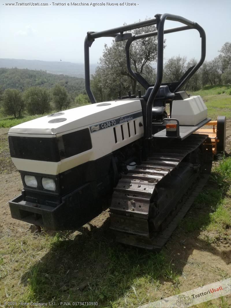 Trattore Cingolato Lamborghini - C 674-70