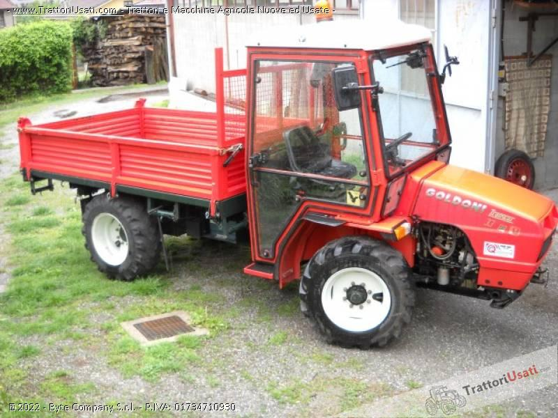 Foto Annuncio Transporter goldoni - transcar 33 cv ruote sterzanti