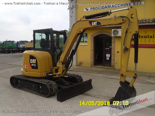 Foto Annuncio Escavatore  - 305.5ecr caterpillar