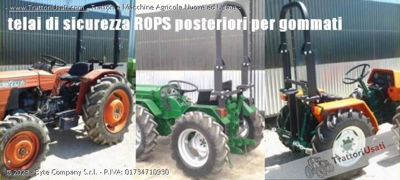 Foto Annuncio Telai sicurezza  - rops per trattori gommati