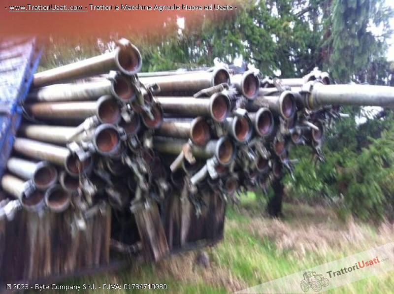 Tubi In Ferro Zincato Usati.30 Tubi Zincati