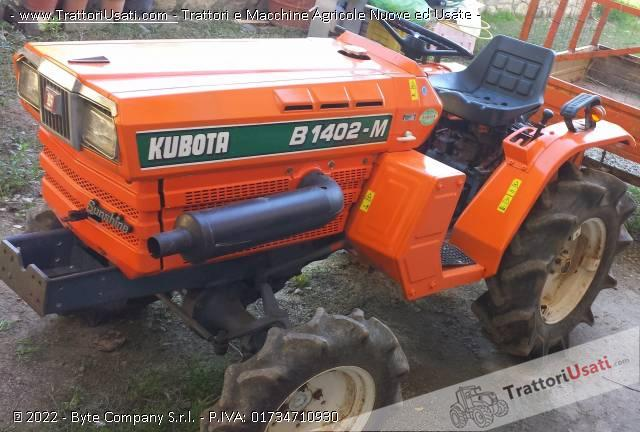 Trattore kubota - b1402m dt 2