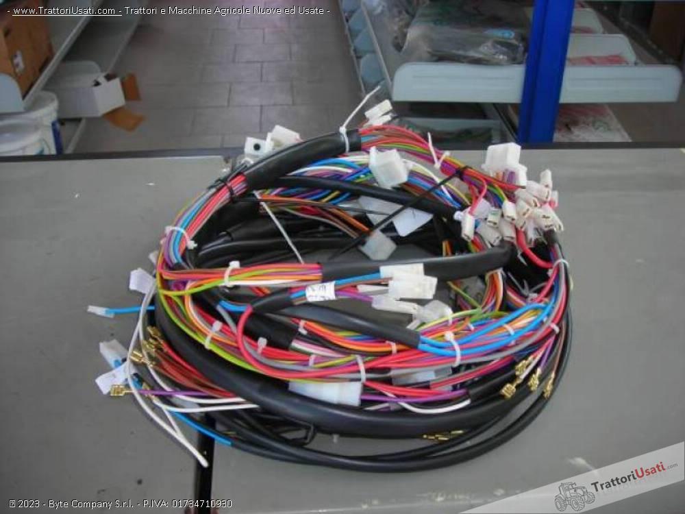 Impianti e cablaggi elettrici fiat - om 850 1000 1300 0