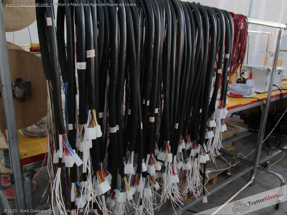 Impianti e cablaggi elettrici fiat - om 850 1000 1300 2