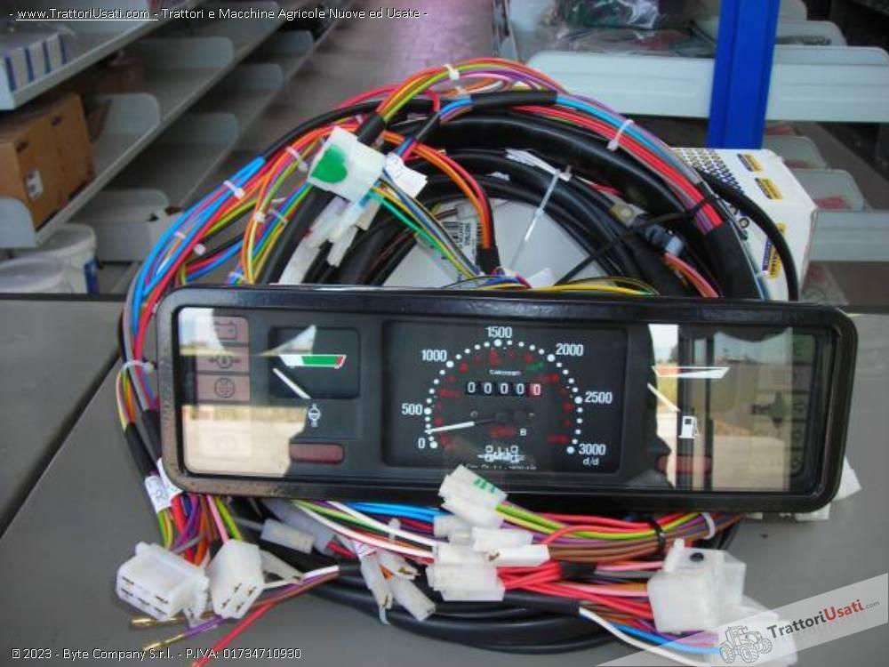Impianto elettrico  - per cingolati fiat 605 5