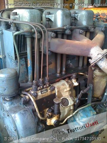 Trattore d'epoca meroni eron - 3 cilindri 7