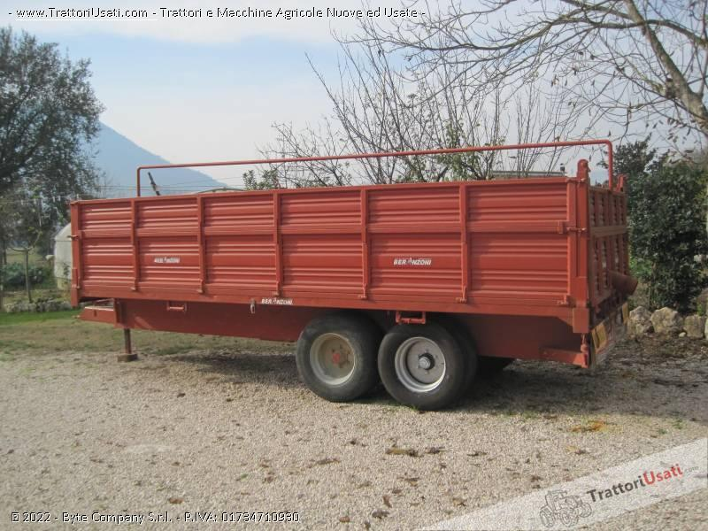 Rimorchio Beranzoni Bel 80 6x250 M