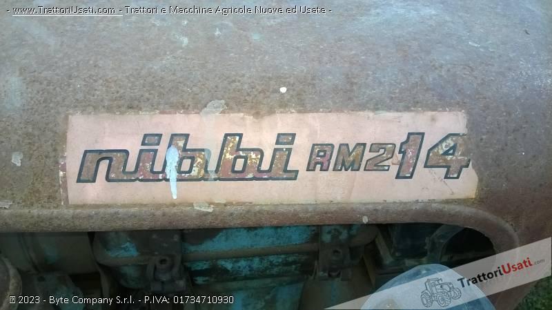Trattore d'epoca nibbi - 2 rm 14cv 2
