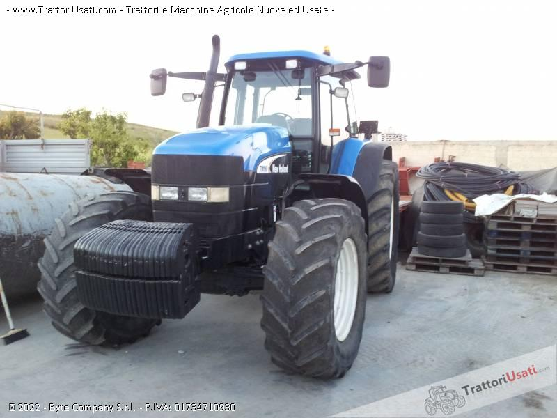 Trattore new holland - tm 190 2