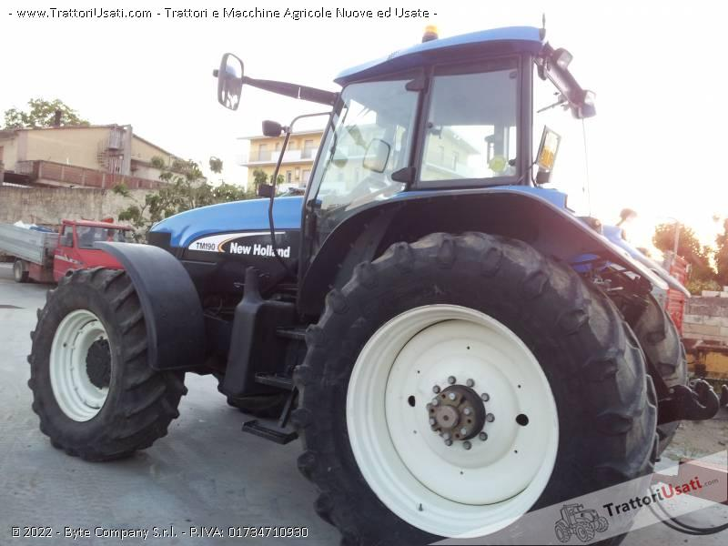Trattore new holland - tm 190 3