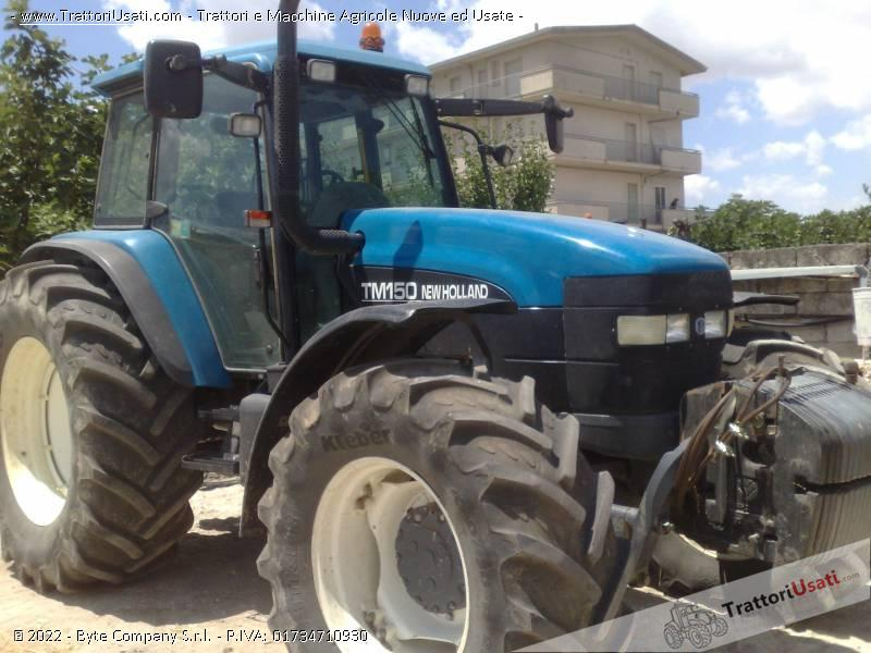 Trattore new holland - tm 150 0