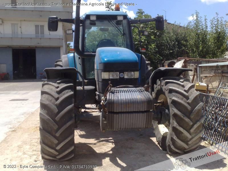 Trattore new holland - tm 150 1