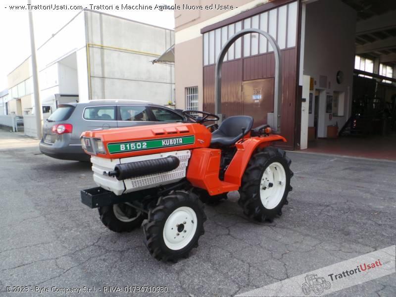 Trattore kubota - b 1502 3
