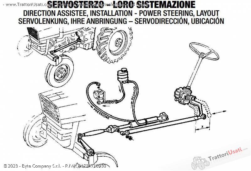 Kit servosterzo  - trattore 0