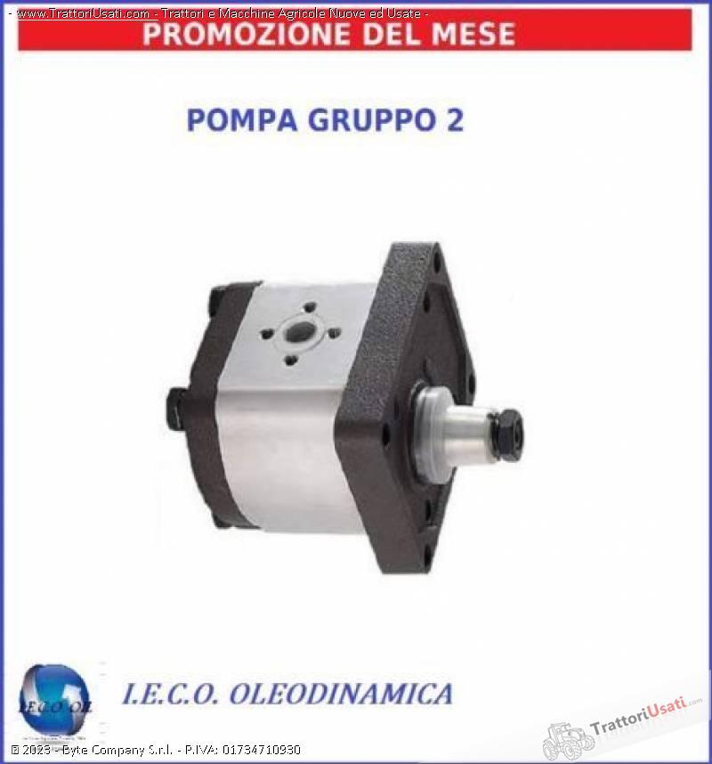 Pompa idraulica  - oleodinamica 0