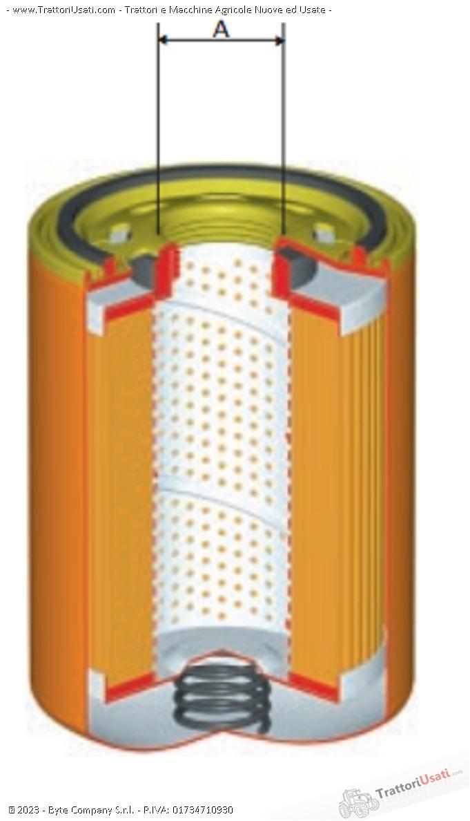 Cartuccia filtro  - spin-on 2