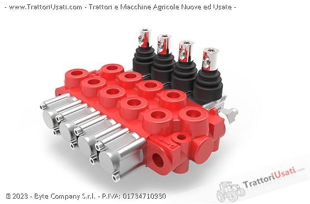 Distributore oleodinamico  - monoblocco da 1 a 7 leve 2