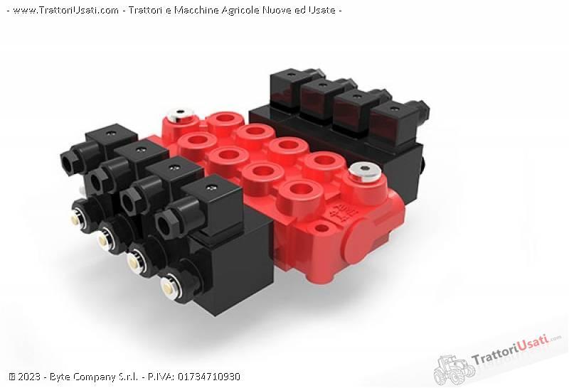 Distributore oleodinamico  - monoblocco da 1 a 7 leve 3