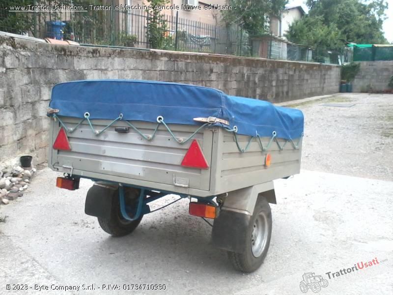 Carrello Appendics Per Motocoltivatori