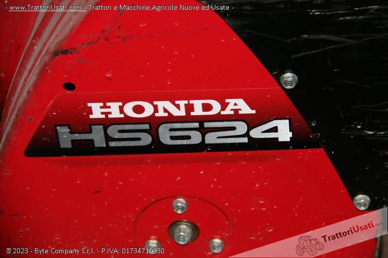 Turbina da neve  - honda hs624 3