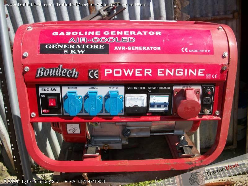 Generatore 5kw a benzina honda for Generatore honda usato