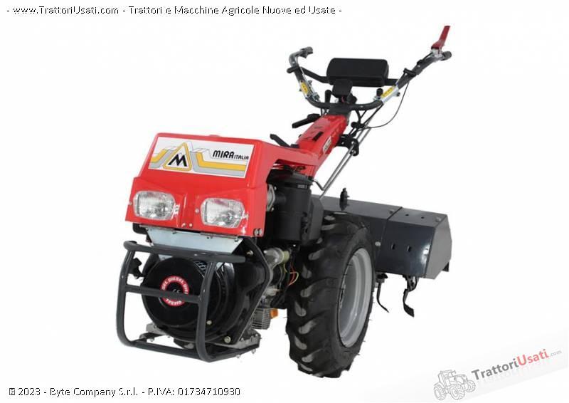 Motocoltivatore g 12 hp 10 avviamento elettrico mira for Motocoltivatore mira