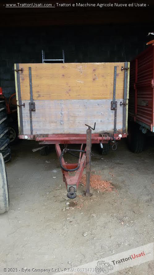 Rimorchio agricolo 1 60x3 00 for Rimorchio agricolo piemonte