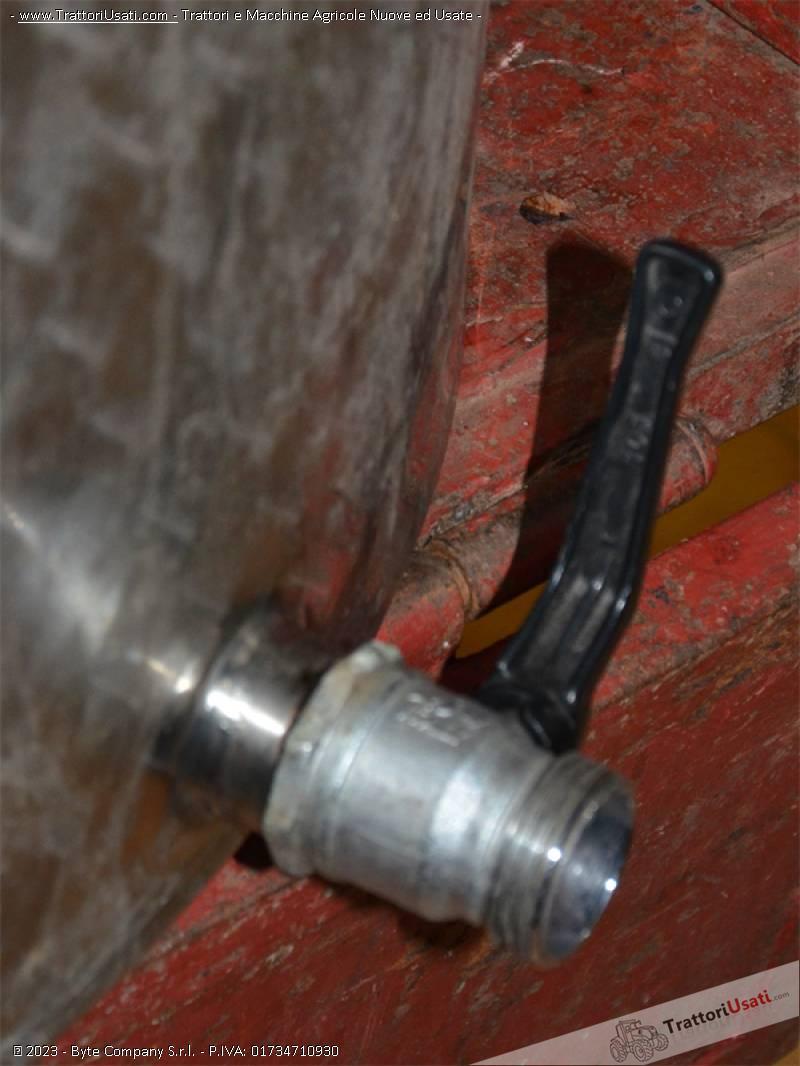 Botte in acciaio  - inossidabile 400 litri 2