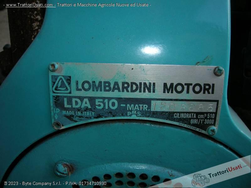 Motocoltivatore bertolini - 315 3