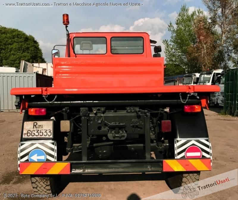 Unimog mercedes - u2150 3