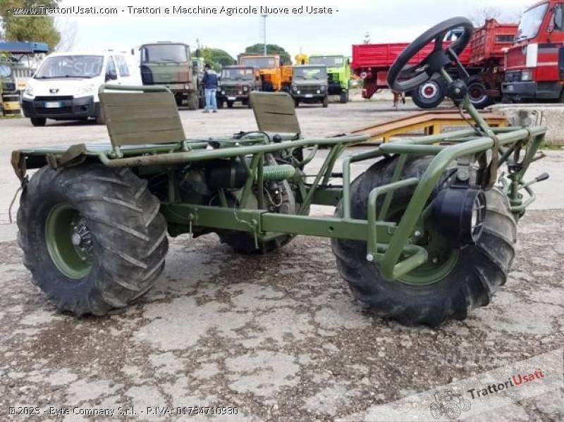 Triciclo militare  - alpen 3 mta90 1