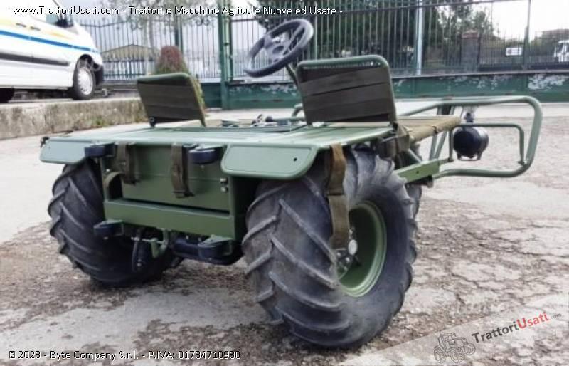 Triciclo militare  - alpen 3 mta90 2