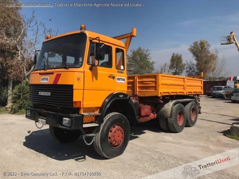Camion  - iveco magirus 256m33 0