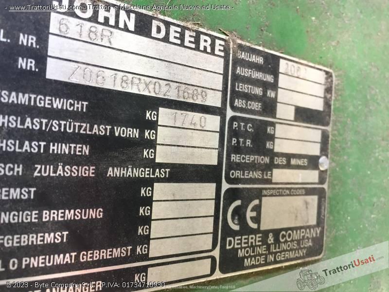 Mietitrebbia john deere - wts 9580 3