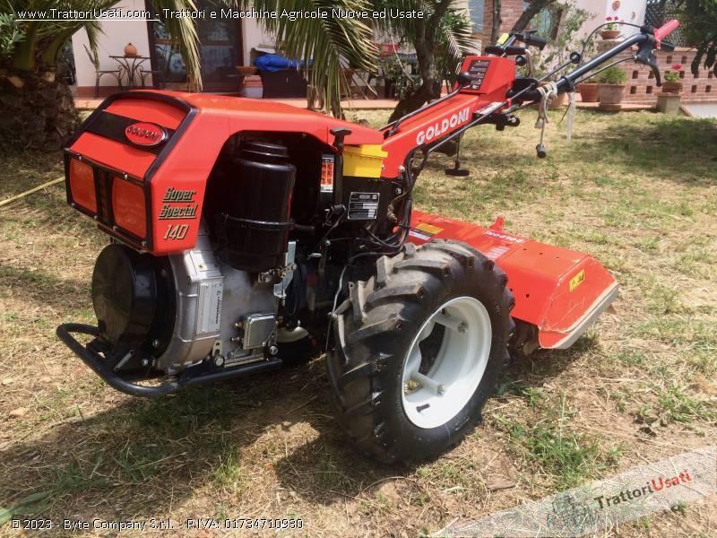 Motocoltivatore goldoni super special 140 for Trincia per motocoltivatore goldoni