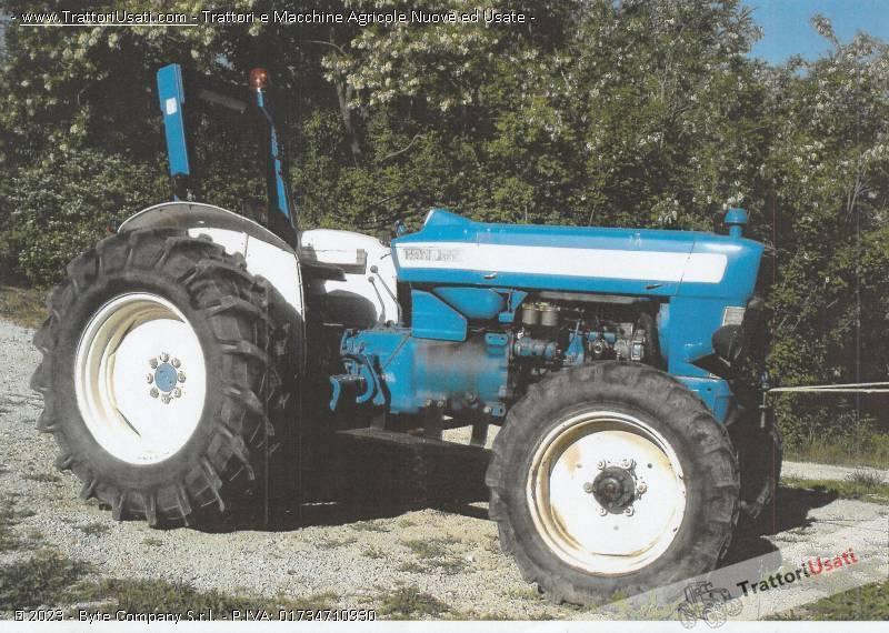 Trattore ford - super major 50 3